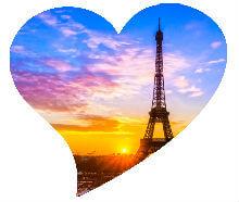 Putovanje u Pariz za Valentinovo