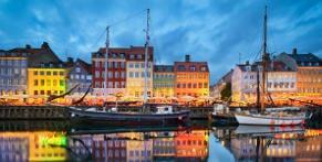 Mit dem Nachtbus nach Kopenhagen