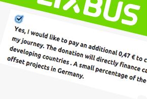 Eco-friendly travel with FlixBus