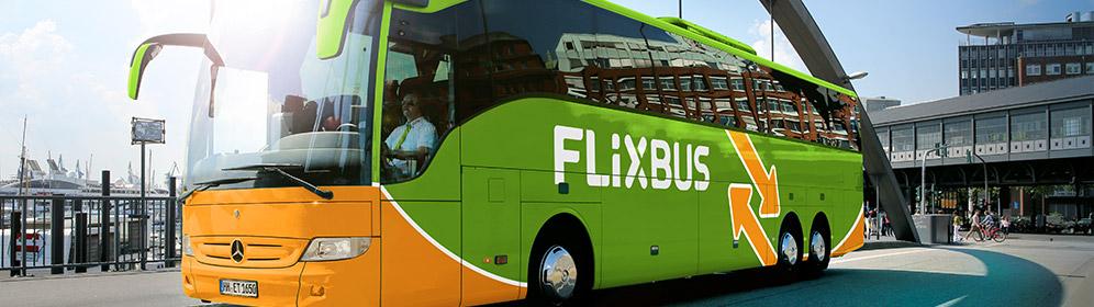 Služby poskytované v autobusech FlixBus