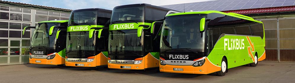 Partneři společnosti FlixBus